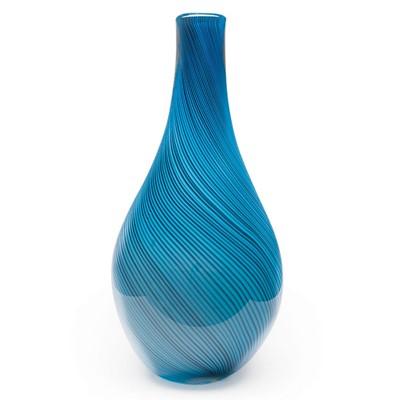 Hand Blown Glass Vases Glass Vase Art Colored Glass Vases