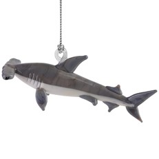 Glassdelights Ornament Hammerhead Shark