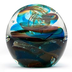 Small Paperweight - Ink Swirls