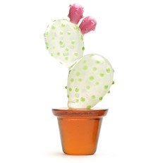 Mini Prickly Pear Cactus Glow