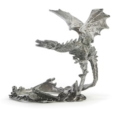 Metal Paperweight Stand - Dragon