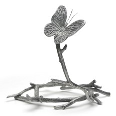 Metal Paperweight Stand - Butterfly
