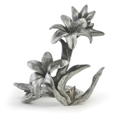 Metal Paperweight Stand - Lily