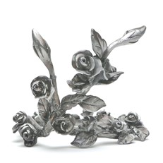 Metal Paperweight Stand - Rose