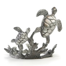 Metal Paperweight Stand - Sea Turtle