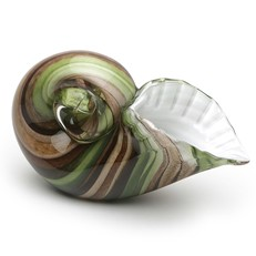 Spiral Shell - Opal Brown