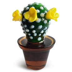 Mini Yellow Flower Cactus