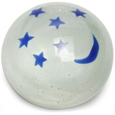 Large Paperweight - Moon & Stars