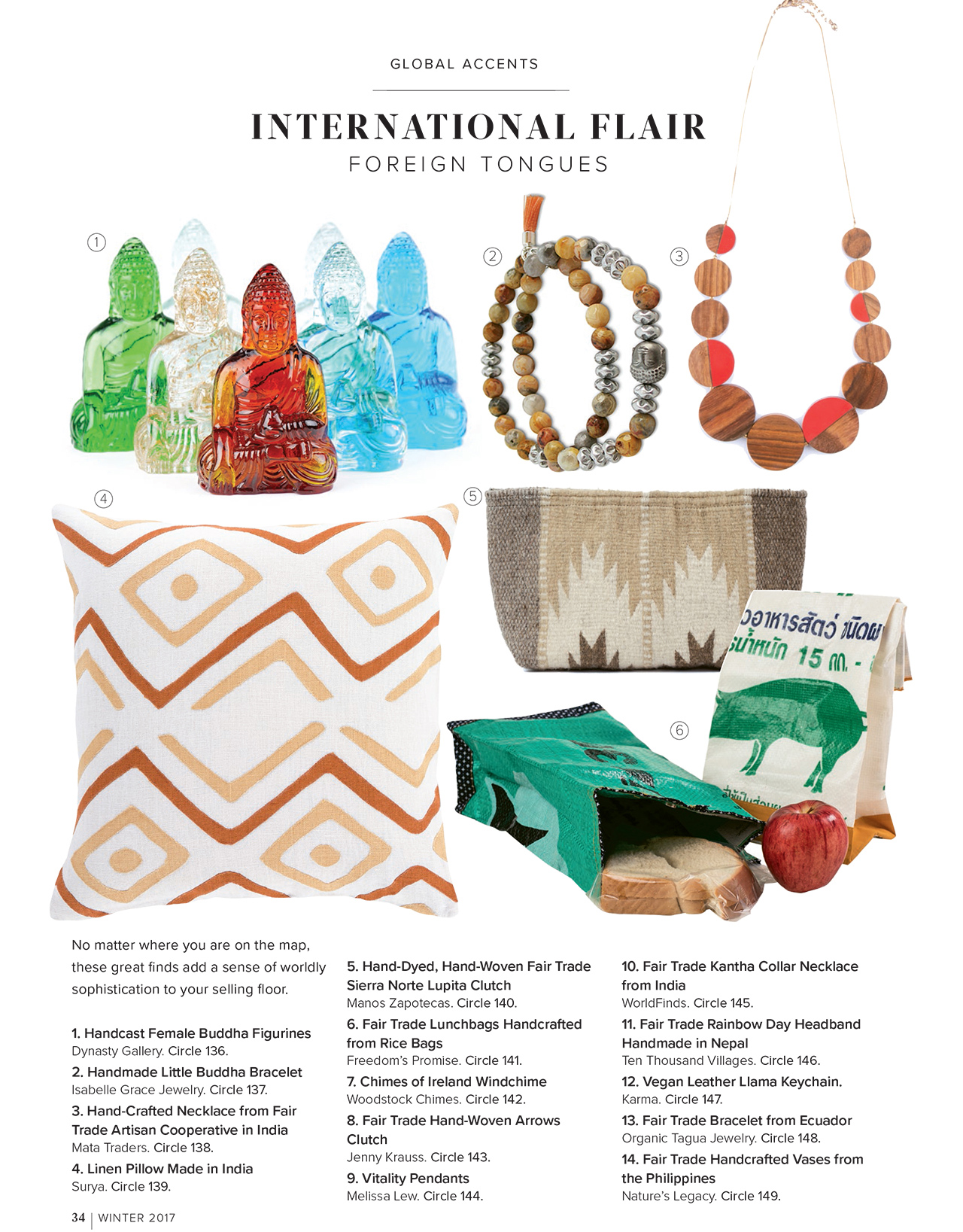 Gift Shop Magazine - Winter 2017 - International Flair