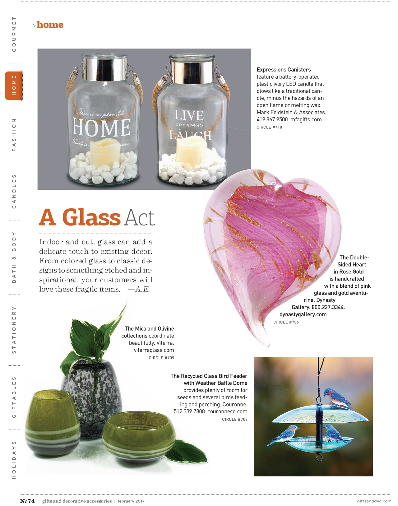 Gifts and Decorative Accessories - February 2017