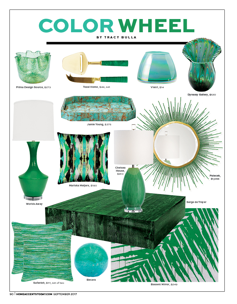 Home Accents Today - September 2017 Color Wheel
