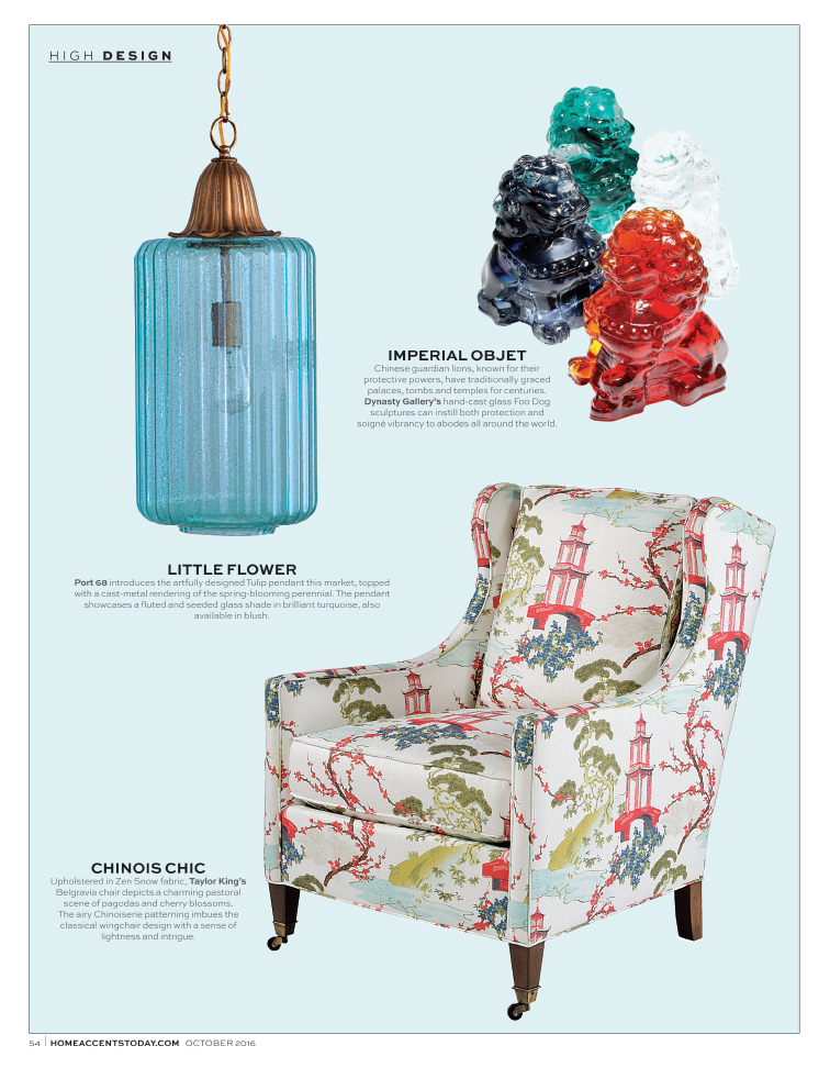 Home Accents Today - High Design - October 2016