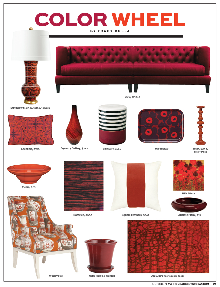 Home Accents Today - October 2016 - Color Wheel