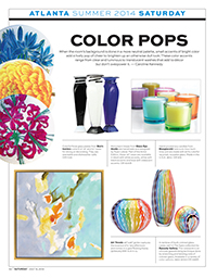 Atlanta Show Daily_2014 HAT - Color Pops - Spira Collection