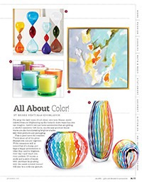 July 2014 GDA - All About Color - Spira Collection
