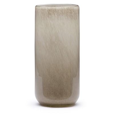 Tall Cylinder Vase Grey Dynasty Gallery