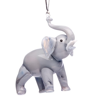 Glassdelights Ornament Elephant