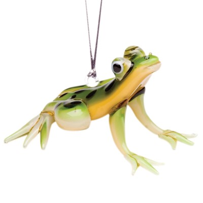 Glassdelights Ornament Spotted Tree Frog