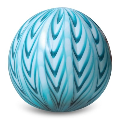 Large Paperweight - Chevron Largo Teal