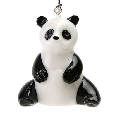Glassdelights Ornament Sitting Panda