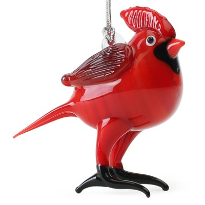 Glassdelights Ornament Red Cardinal