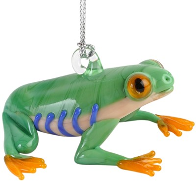 Glassdelights Ornament - Tree Frog
