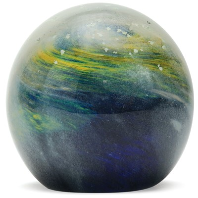 Large Paperweight - Cosmic Dust Glow