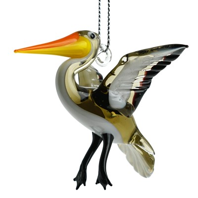 Glassdelights Ornament - Pelican