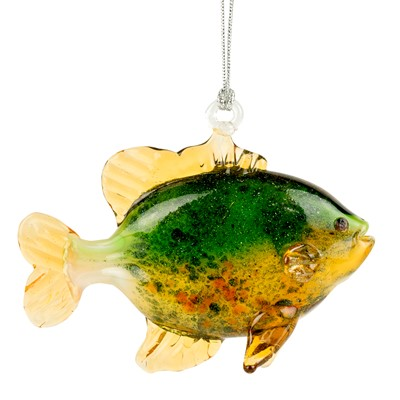 Glassdelights Ornament - Spotted Sunfish