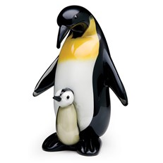 Emperor Penguin Father & Baby