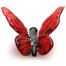 Butterfly Red & Black