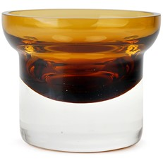 Small Votive Bowl - Amber