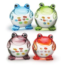Mini Frogs - Set Of 4
