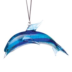 Glassdelights Ornament Dolphin