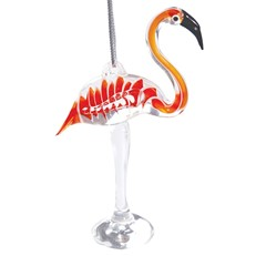 Glassdelights Ornament Flamingo