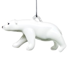 Glassdelights Ornament Polar Bear