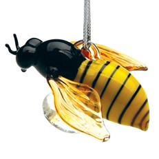 Glassdelights Ornament Honey Bee