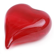 Double Sided Heart - Red