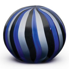 Medium Paperweight - Circus Stripes Grey