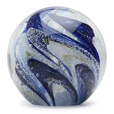 Large Paperweight - Blueberry Snow Cone Glow