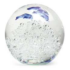 Large Paperweight - Jumping Dolphins