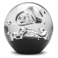 Large Paperweight - Black Celestial Maze
