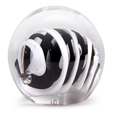 Small Paperweight - Black/White Roll