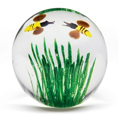 Small Paperweight - Honey Bee Glow