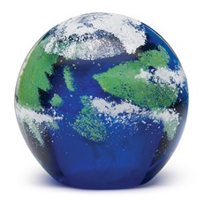 Large Paperweight - Earth Glow