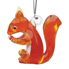 Glassdelights Ornament Squirrel