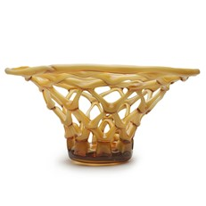 Weave Bowl - Amber