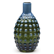 Morocco Oval Vase - Blue/Green