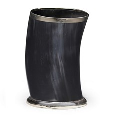 Small Ebony Horn - 5in