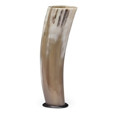 Large Ivory Horn - 10in